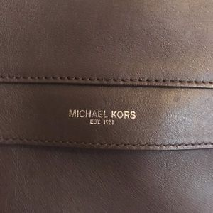 Michael Kors leather messenger